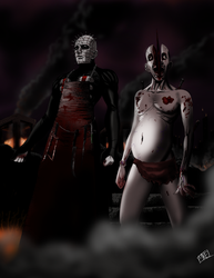 Hell Priest and Felixson by mikebloodslaver