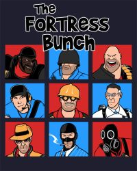 The Fortress Bunch by spacemonkeydr