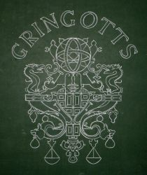 Coat of Arms of Gringotts by Azdaracylius