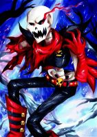 Underfell Papyrus by Moon--Shield