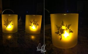 Dabble in crafts--Tangled Lanterns by VanillaDeonna