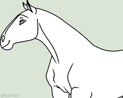 SSOTC Free To Use Base - Mare (Hairless) by Narvari