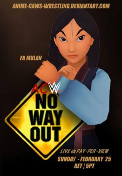 No Way Out 2018 by JoeyTribbiani125