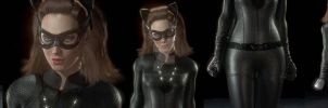 TDKR Catwoman Final by MrJustArkhamGames