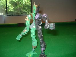 Bionicle-Double Cyclone Joker by andrell