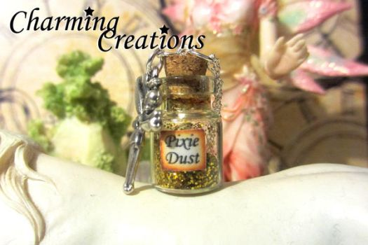 Pixie Dust necklace by literary-magic