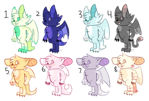 Free Chirisu adopts, batch 2! (Closed) by Pookadook4