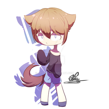 Chibi practice by OPHake