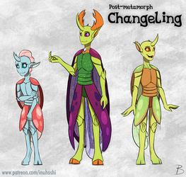 'Humanized' Metamorphed Changeling Design by InuHoshi-to-DarkPen