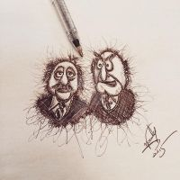 Statler and Waldorf by Nephellim