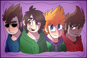 Eddsworld Squad by PixieDoesDrawing