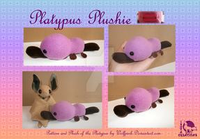 Platyplus Kawaii plush by Ishtar-Creations