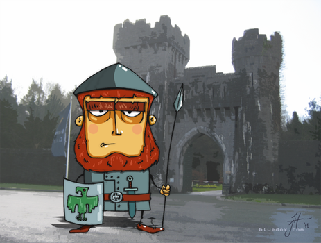 Castle Guard by m26gil
