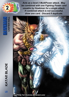 Hawkman Special - Katar Blade by overpower-3rd