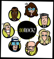 30 Rock's All-Stars by Cool-Hand-Mike