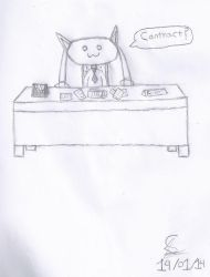 Business Kyubey by icelix26
