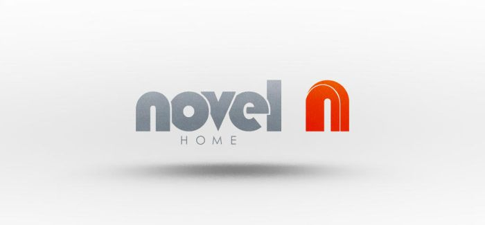 Novel Home Logo Design by cihanYILDIZ