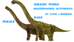 Jurassic World Brachiosaurus by GorgonGorgosaurus