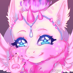 YCH COMMISSION FINISHED ICON #7 by AimyMoon