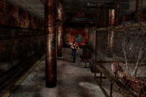 MMD Stage Silent Hill Subway DL by Clonesaiga