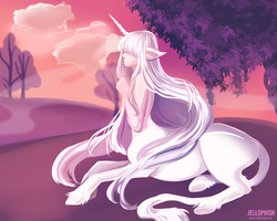 Lilac Forest by jellophish