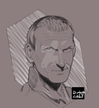 The Ninth Doctor by Dynamic-Illustration