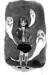 The Robin's Nest: Ghosts by leedawnillustration