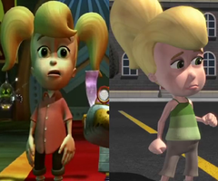 Cindy Vortex Before and After (Jimmy Neutron) by dlee1293847