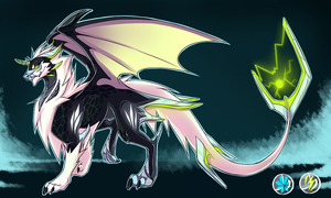 Dragon -Thunder Ice  Adopt [Auction] SOLD by NazaKiru