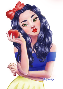 Modern Day Snow White by moonmistix