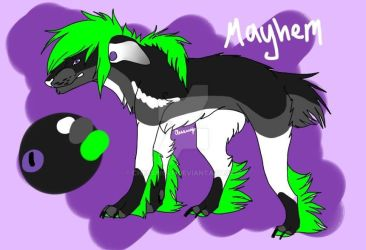 Mayhem Reference Sheet -2015- by ChessWolf
