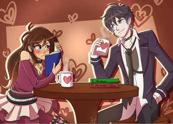 AT: Coffee Date by Squeetheidiot