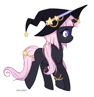 (Closed) Pony Adopt Halloween Day 19 Witch by AcrylliaV