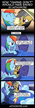 Comic: How Daring Don't Should Have Ended by artwork-tee