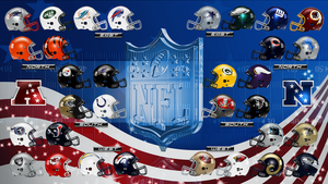 NFL Helmets Wallpaper by Nivrag69