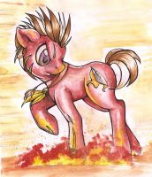 Fire Feather by Pingwinowa