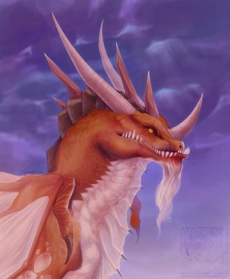Bust - Red Dragon by jabburwock