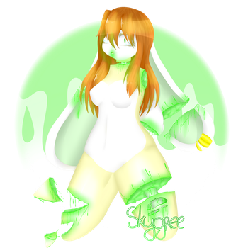 Green death or pastel idk by Skygree