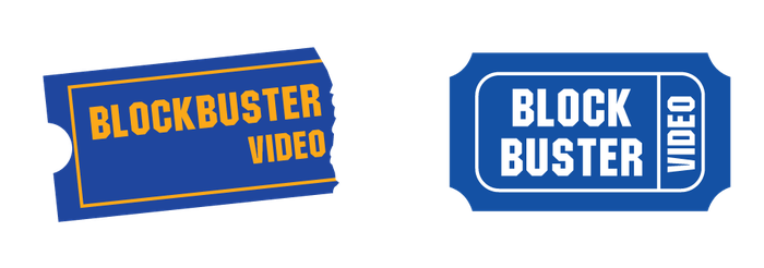 Blockbuster Video Logo Redesign by Jarvisrama99