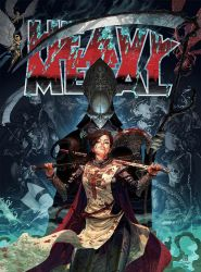 Heavy Metal - Court of the Dead by red-monkey