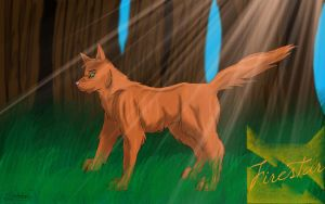 Fire that saved ThunderClan by Rudahn