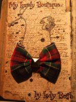 Punk Bow by TheLovelyBoutique