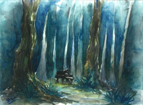 Piano by pxuan6