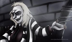 Beetlejuice x Reader: Grim Grinning Ghost by Tarnisis on DeviantArt