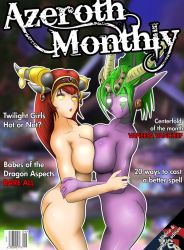 Azeroth Monthly by ColdBrush