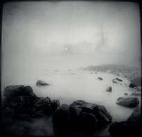 A Fog Over Knife River II by intao