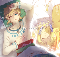 LoZ:SS: Will you wake me up? POSSIBLE SPOILER by lian-ne