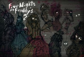 Five Nights at Freddy's 2 Electric Boogaloo by MotherofOnity