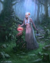 Collab - Guardian of Ancient Secrets by Zolaida
