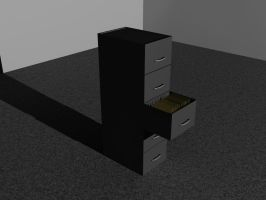 3d Model Cabinet by afloodiscoming